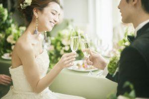 結婚式の乾杯♪