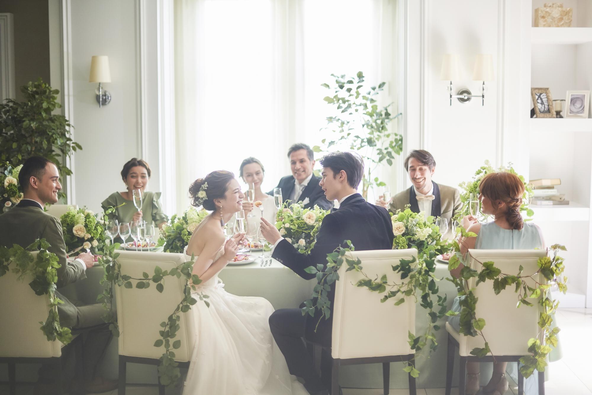 ジューンブライドの結婚式♡