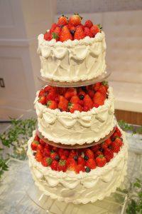 ケーキ入刀について…