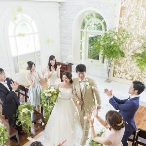 チャペルでの人気No.1演出☆