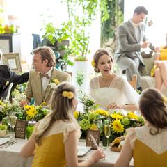季節ならではのお花で結婚式を盛り上げよう!!
