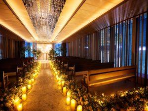・⁂☆*NIGHT WEDDING*☆⁂・~挙式編~
