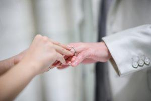 *・・指輪交換・・*