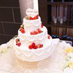 世界に一つだけのオリジナルウエディングケーキ♡