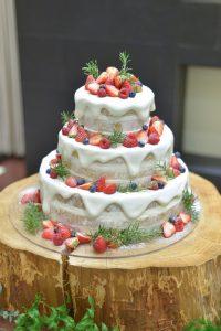 *ウェディングケーキ